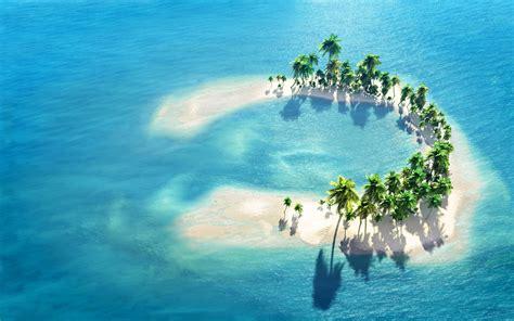 Very Small Island, Maldives  Hd Wallpaper Download