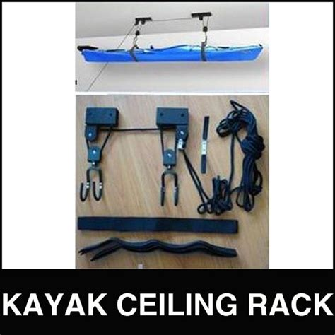 kayak hoist ceiling rack kayak hoist lift pulley system ceiling rack hook garage