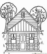 Coloring Pages Tree Houses Printable Adult Magic Architecture Sweet Civil War Treehouse Clipart Coloringpages101 Para Colouring Colorear Victorian Pintar Pdf sketch template