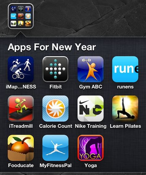 new year s resolution iphone apps for 2012 appsafari