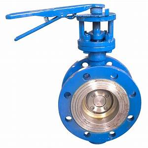 China Manual Flanged Butterfly Valve Rf150lb  Ss304  Wcb