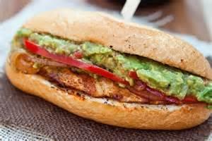 Grilled Chicken Fajita Sandwich