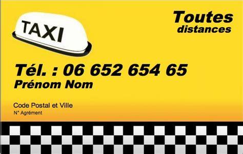 modele carte de visite taxi carte de visite professionnelle taxi