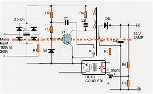 32v  3 Amp Led Driver Circuit
