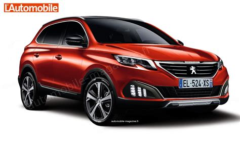 latest peugeot 2016 2016 new generation peugeot 3008 coming autos world blog