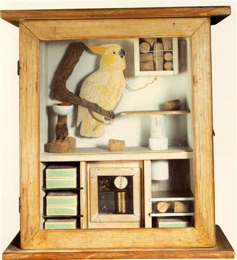 feather left  joseph cornell art