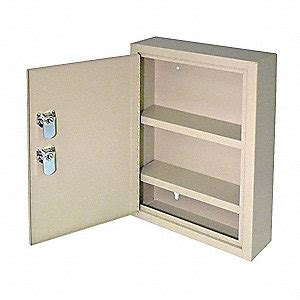 empty first aid cabinet mmf industries empty first aid cabinet sand steel 3lrh1