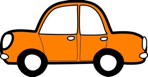 Cars Clipart Orange Car Clip At Clker Vector Clip