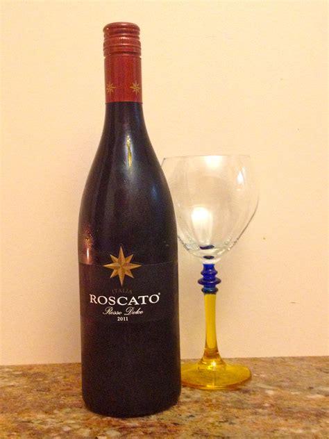 Roscato Sweet Red Wine