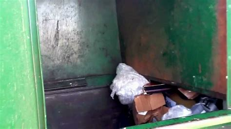 waste management compactor odor removal system youtube