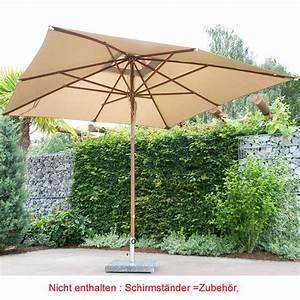 Sonnenschirm Aus Holz : ber 120 sonnenschirme aus holz metall art jardin ~ Frokenaadalensverden.com Haus und Dekorationen