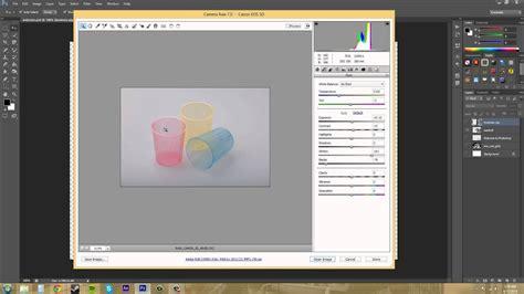 photoshop cs tutorial    import camera raw