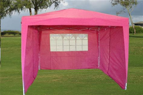 easy pop  tent canopy   sidewalls  colors