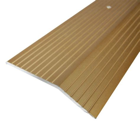 flooring transition strips home hardware trafficmaster gold 2 in x 72 in carpet trim h6034 hg 6