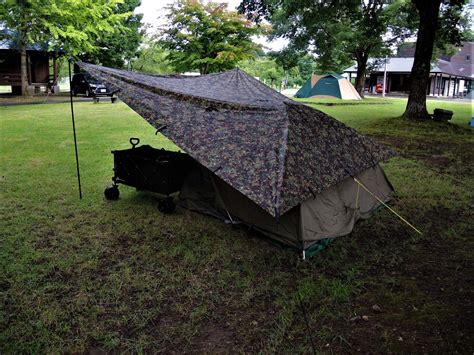 キャンプ サイト こない