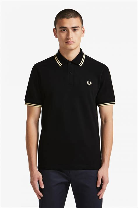 fred perry köln m12 black chagne chagne the fred perry shirt fred perry us