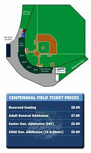 Seating Pricing Vermont Lake Monsters Centennial Field
