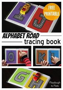 free letter tracing roads books free and letter tracing With letter tracing books
