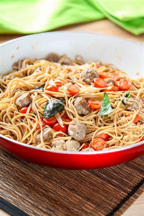 pot italian sausage pasta