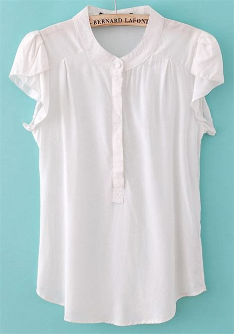 white blouse sleeve white sleeve blouse with collar 39 s lace blouses