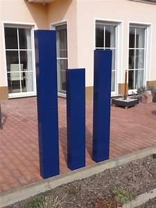 Sichtschutz 100 Cm Hoch : stele sichtschutz 140 cm hoch und 20 cm breit ~ Bigdaddyawards.com Haus und Dekorationen