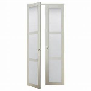 shop reliabilt off white frosted glass mdf pivot interior With 30 inch frosted glass interior door