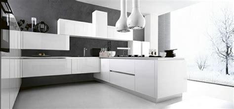 cuisine laquee blanche cuisine contemporaine design 11 exemples inspirants