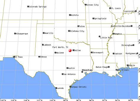 fort worth texas map my blog