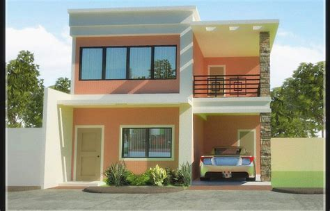 storey house floor plan designs philippines awesome  story houses  garages simple