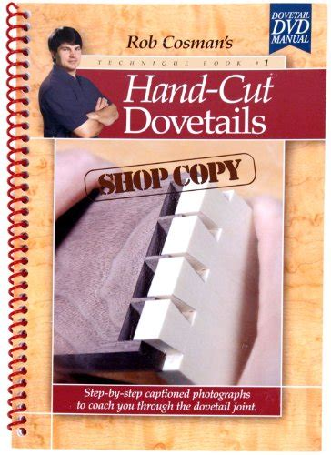 hand cut dovetails shop copy  rob cosman bestseller