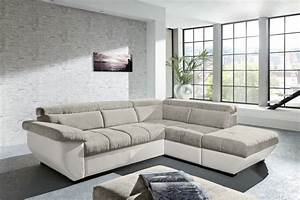 canape d39angle speedway elephant blanc sb meubles discount With tapis berbere avec canapé d angle speedway