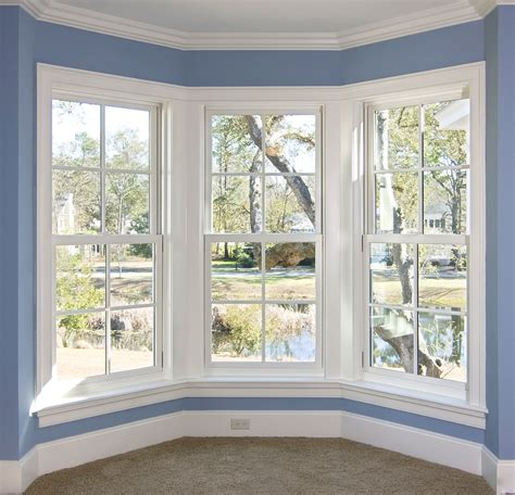 home interior window design decoration home design blog in modern style of interior house blue wall around white bay