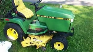 John Deere 265 Garden Tractor