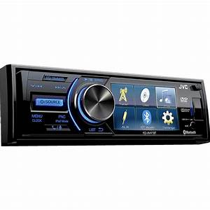 Jvc Kd-av41bt  Cd Receiver With Iphone U00ae Control At