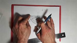 Ray Diagrams - Plane Mirror Example  Part 2 Of 3
