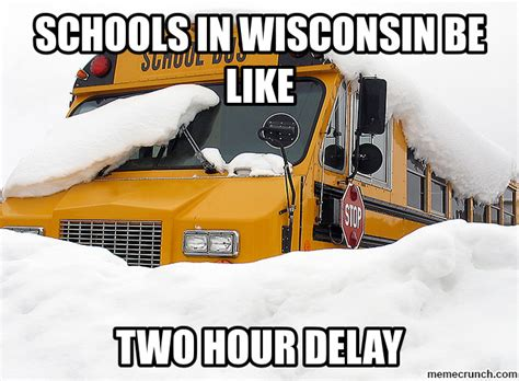 Wisconsin Meme - winter in wisconsin
