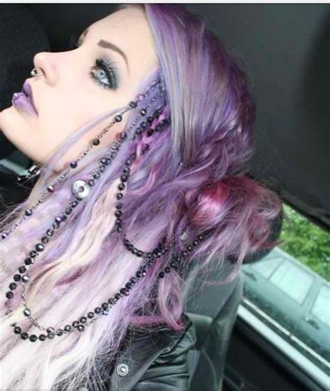 Pretty Pink And Purple Hair Pictures Photos And Images