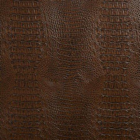 Walmart Upholstery Fabric by Designer Fabrics G033 54 In Wide Brown Crocodile Faux