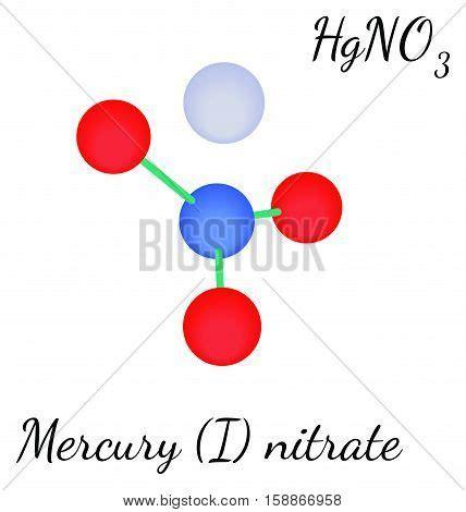 Harga Merkuri Nitrat mercury nitrate hgno3 molecule vector photo bigstock