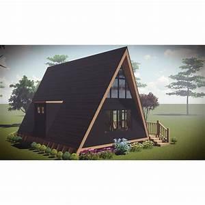 A Frame Kit Home – House Plan 2017