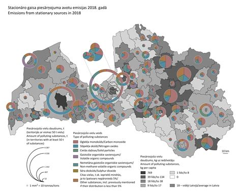 Stacionāro gaisa piesārņojuma avotu emisijas 2018. gadā | Centrālā statistikas pārvalde