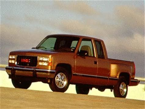 blue book value for used cars 1996 gmc 1500 club coupe auto manual 1995 gmc 1500 club coupe pricing ratings reviews kelley blue book