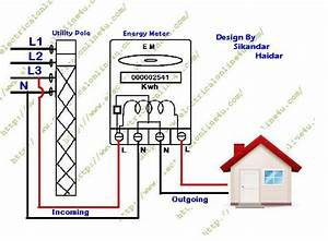 Home Electric Meter Diagram