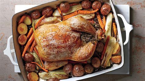herb roasted chicken  vegetables