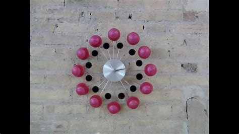 wall clock  recycled dolce gusto capsules reloj de