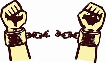 Clip Freedom Slavery Transparent Chain Break Clipart