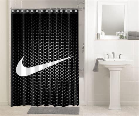 nike just do it logo 512 shower curtain waterproof