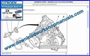 Citroen Zx Workshop Repair Manual