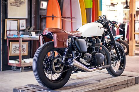 Custom Triumph Bonneville By Deus Ex Machina