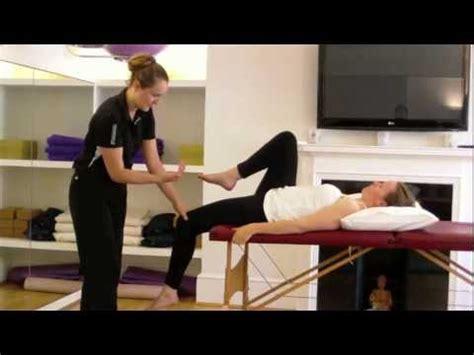 Sports Massage + hip flexors +thomas test - YouTube